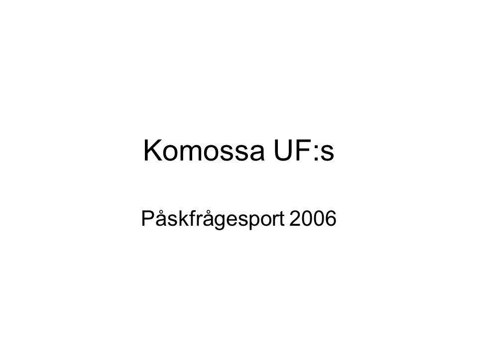 Komossa UF:s Påskfrågesport 2006