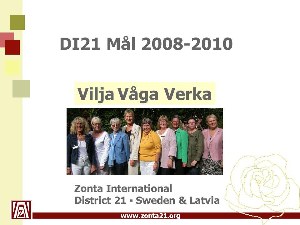 www.zonta21.org Service och UN Att vara Zonta är att vilja fokusera och synliggöra serviceprojekt och Zontas samverkan med FN.