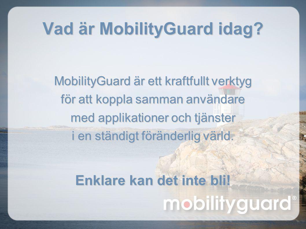 MobilityGuard är ett kraftfullt verktyg för att koppla samman användare med applikationer och tjänster i en ständigt föränderlig värld. Enklare kan de