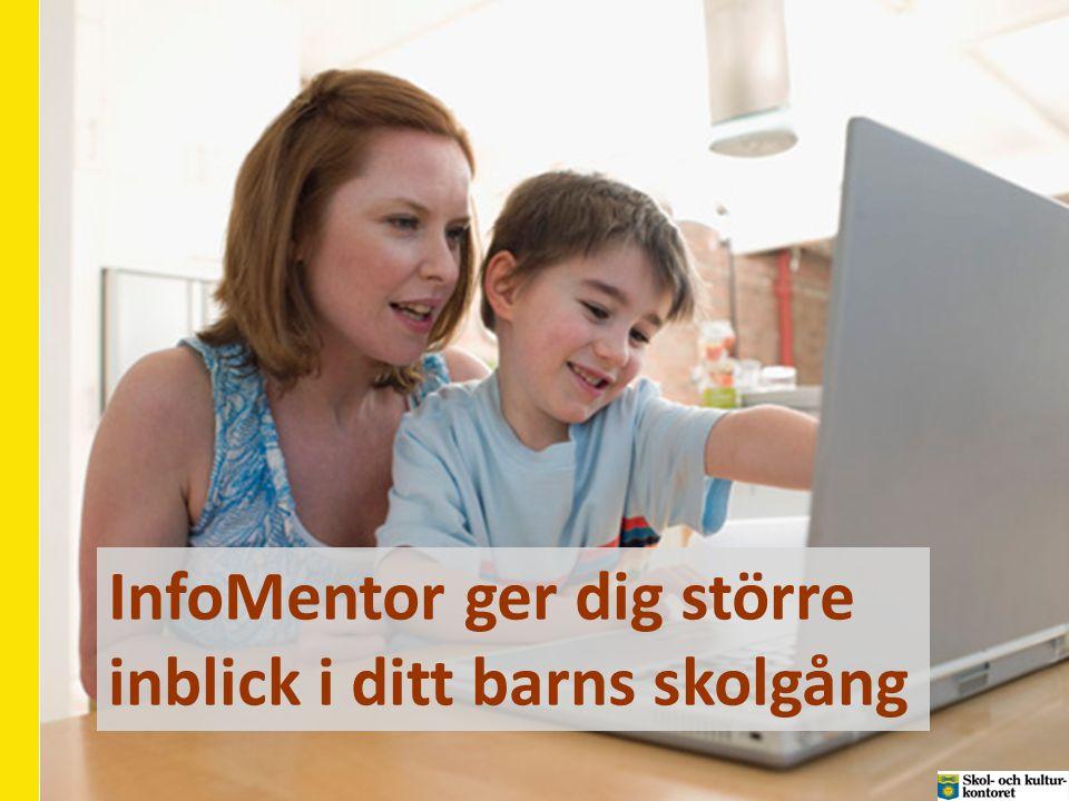 InfoMentor ger dig större inblick i ditt barns skolgång