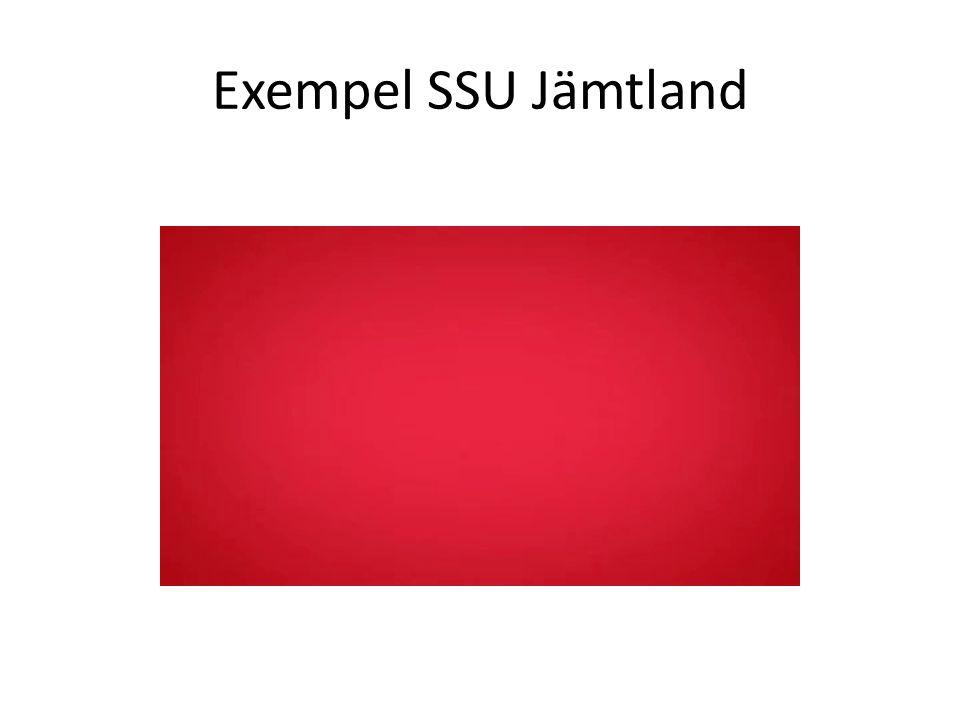 Exempel SSU Jämtland