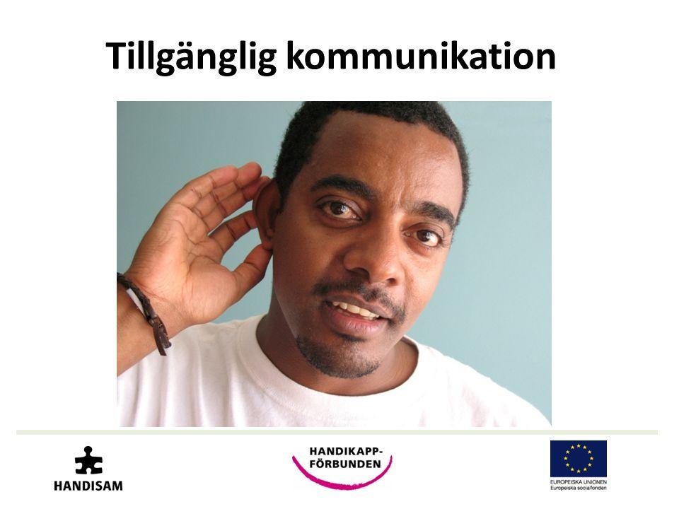Tillgänglig kommunikation