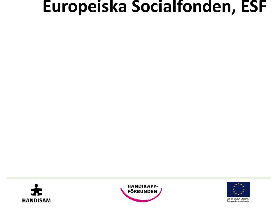 Europeiska Socialfonden, ESF