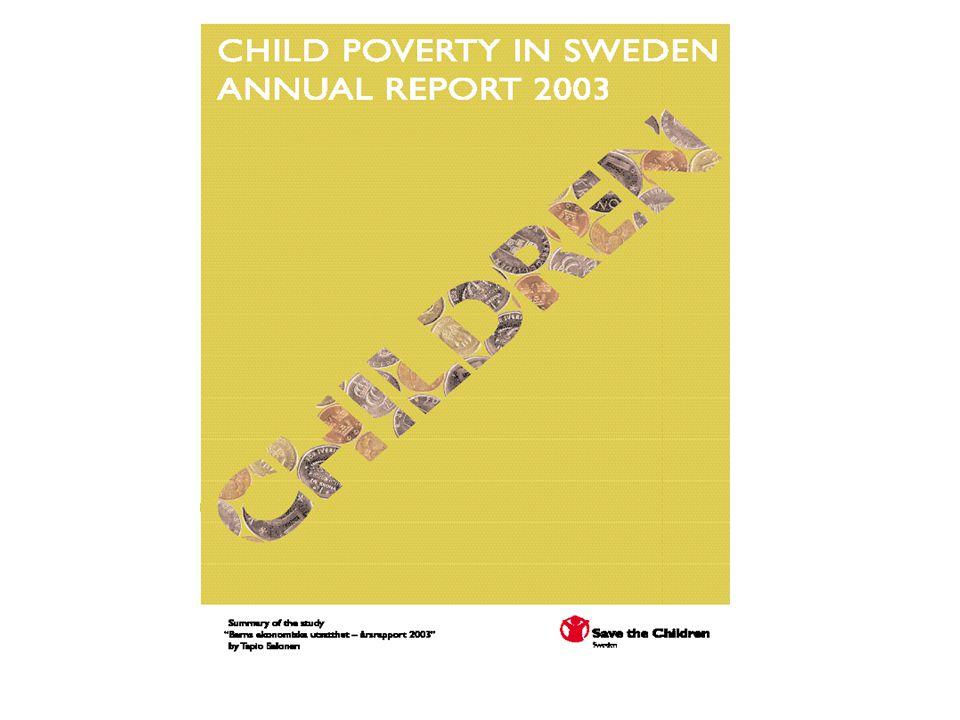 Salonen T.2002a. Barns ekonomiska utsatthet under 1990-talet.