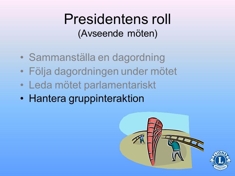 Parlamentarisk mötesordning •Ett exempel på parlamentarisk mötesordning är Robert's Rules of Order (tillämpas ej i Sverige) –Den officiella webbplatsen.