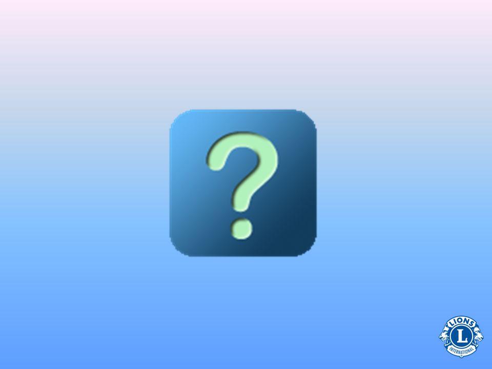 Presidentens uppgift (Avseende val av klubbtjänstemän) •Se till att val sker enligt Lions stadgar och arbetsordning –Utse en nomineringskommitté –Rapport om klubbtjänstemän (PU-101) •Val av klubbtjänstemän bör ske i april och PU- 101 måste vara Lions internationella huvud- kontor tillhanda senast den 15 maj.