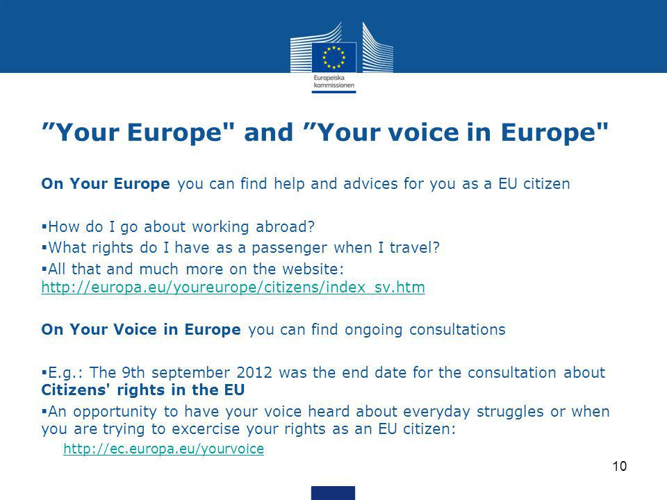 """Your Europe"