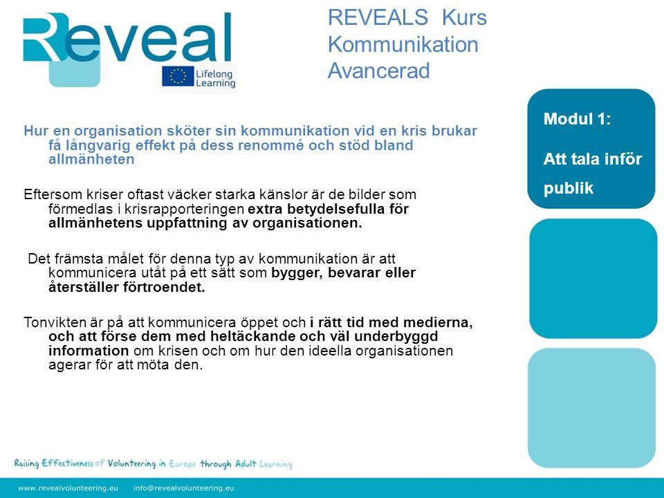 Nivå: Advancerad Område: Kommunikation Modul 3: Grunderna för användning av IT DU 3.1 Sökopitimering och positionering –så kan de underlätta marknadsföringen för ideella organisationer REVEALS Kurs Kommunikation Avancerad