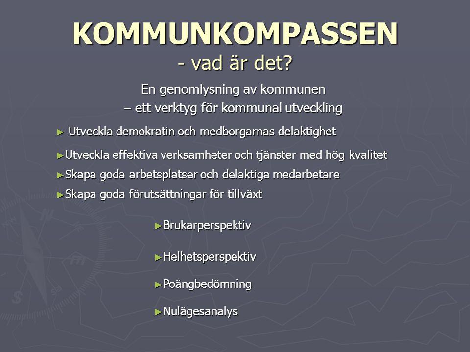 Kommunkompassen - dimensioner ► POLITISKT SYSTEM - Hur kommunicerar politiker med medborgarna och förvaltningarna.