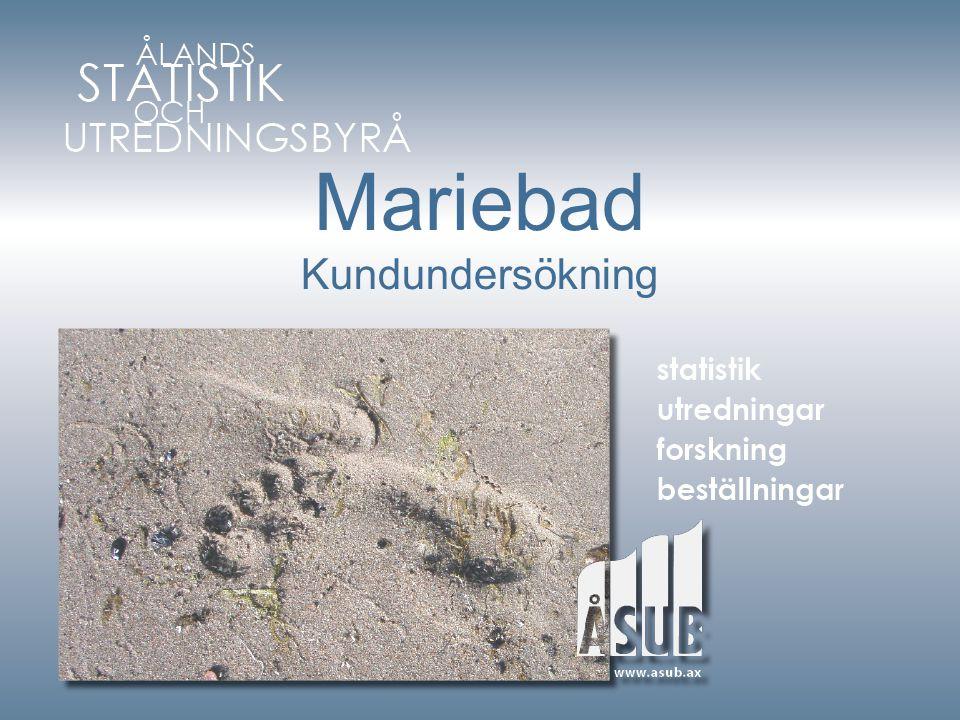 Mariebad Kundundersökning