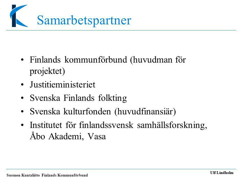 Suomen Kuntaliitto Finlands Kommunförbund Ulf Lindholm •Hur klaga.
