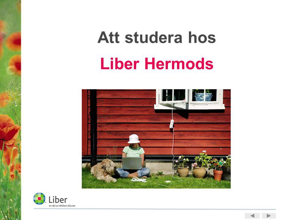 Att studera hos Liber Hermods