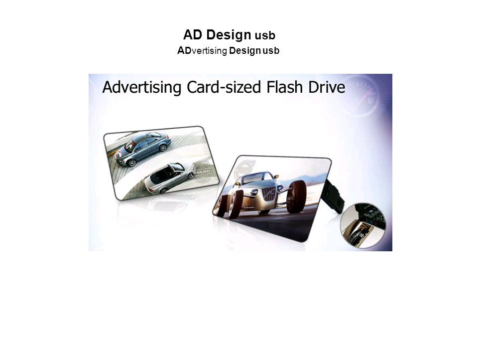 AD Design usb A Dvertising Design usb