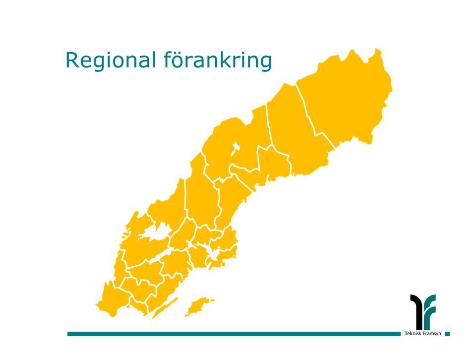 Regional förankring