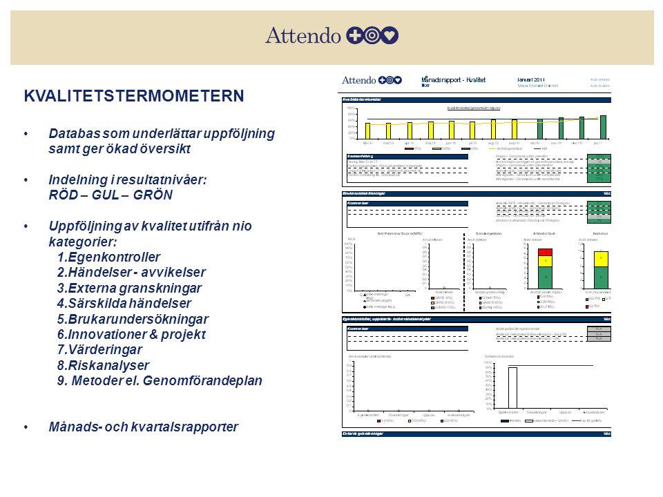 2014-06-2913Värderingarnas ABC KVALITETSTERMOMETERN •Databas som underlättar uppföljning samt ger ökad översikt •Indelning i resultatnivåer: RÖD – GUL – GRÖN •Uppföljning av kvalitet utifrån nio kategorier: 1.Egenkontroller 2.Händelser - avvikelser 3.Externa granskningar 4.Särskilda händelser 5.Brukarundersökningar 6.Innovationer & projekt 7.Värderingar 8.Riskanalyser 9.