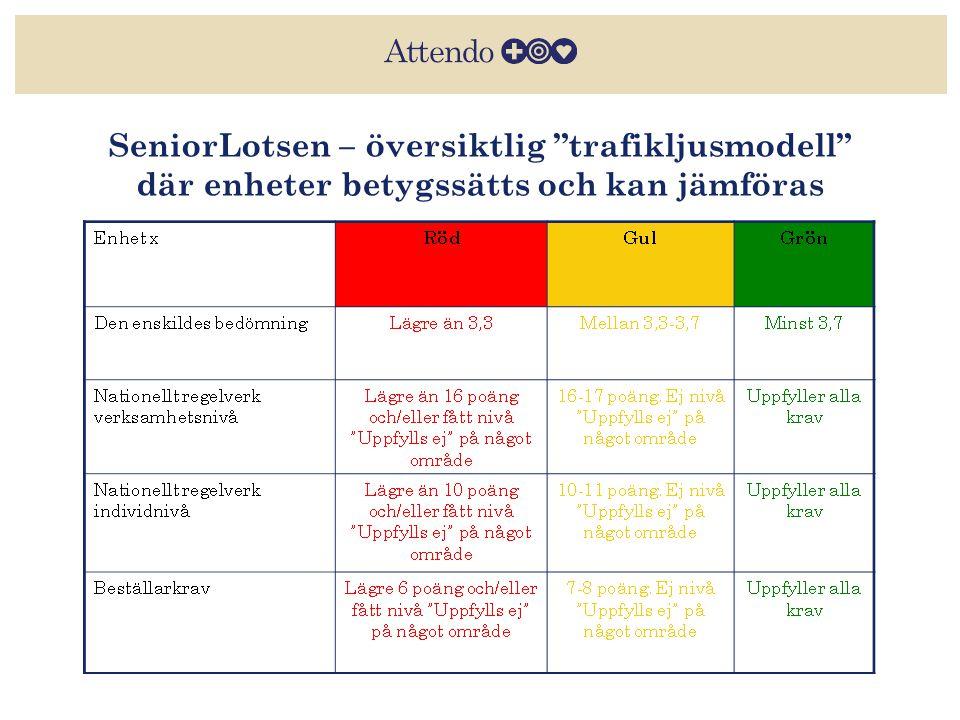 SeniorLotsen – översiktlig trafikljusmodell där enheter betygssätts och kan jämföras