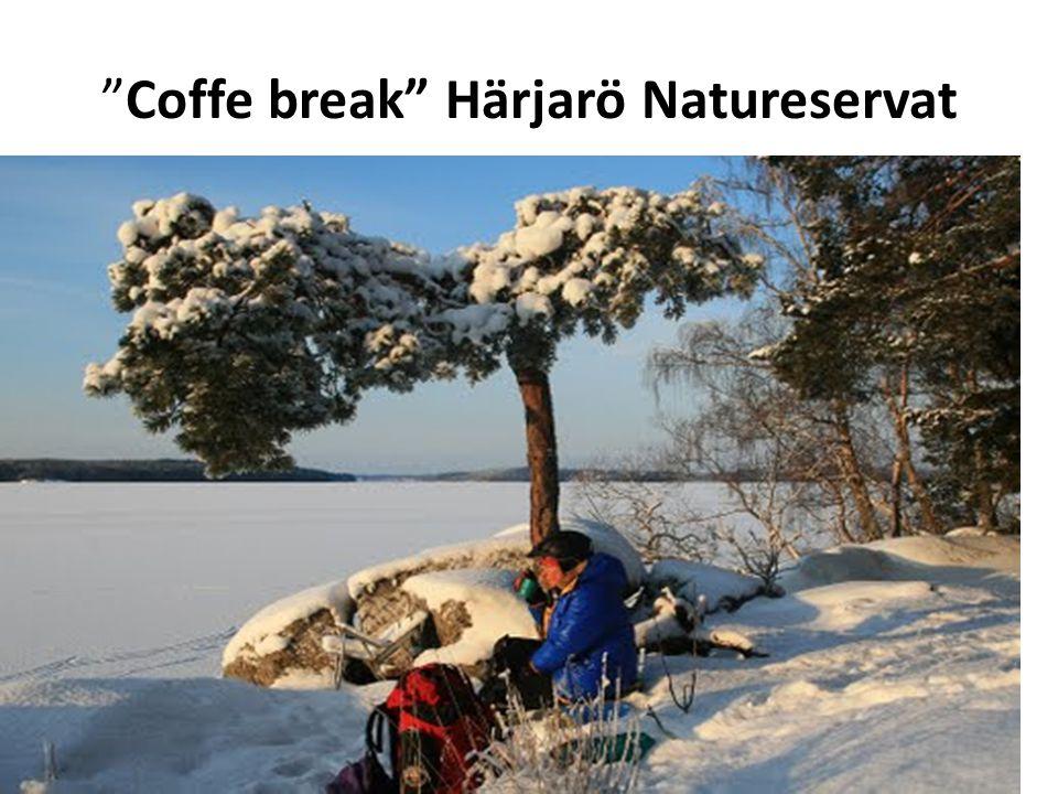 """""""Coffe break"""" Härjarö Natureservat"""