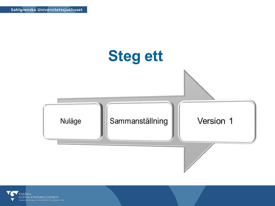 GAP-analys utgångspunkter  Åtgärd/insats saknas  Vill implementera ( i steg 2 eller 3)  Åtgärd/insats finns delvis  Åtgärd/insats finns  Åtgärd/insats ska ej finnas