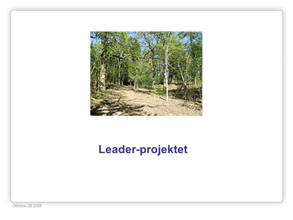 Leader-projektet Oktober 28 2009