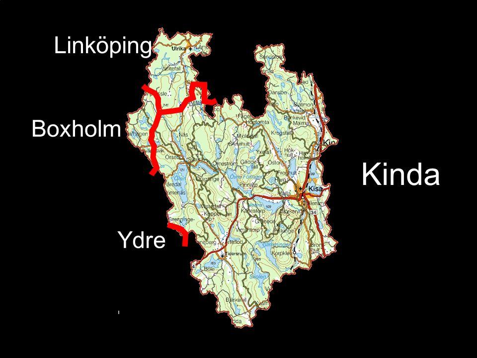 Kinda Ydre Boxholm Linköping