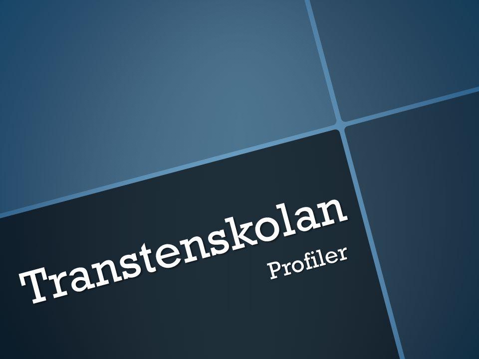 Transtenskolan Profiler