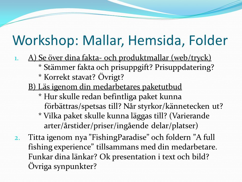 Workshop: Mallar, Hemsida, Folder 1.