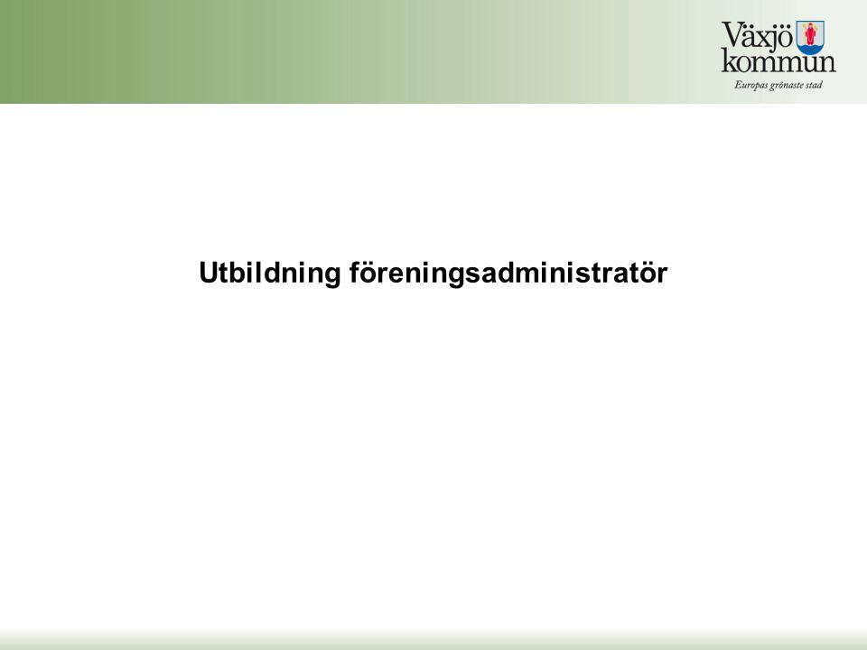 Föreningsadministratören signerar aktiviteterna För att bidrag ska kunna genereras för närvarorapporteringen krävs att föreningsadministratören godkänner den närvarorapporteringen som utförts genom att signera klarmarkerade tillfällen.