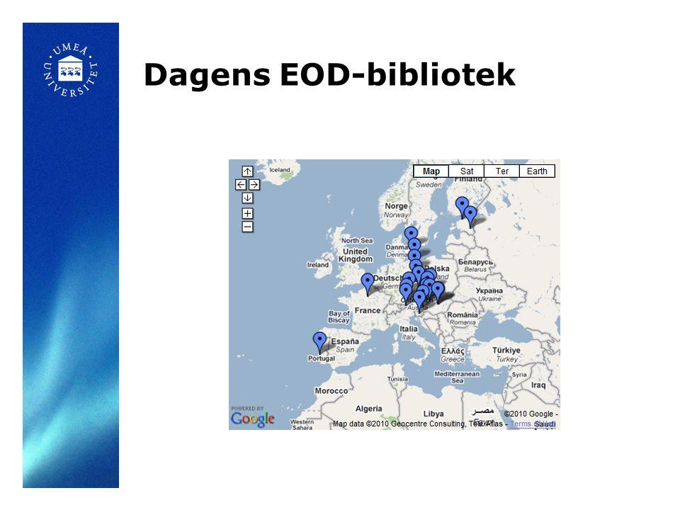 Dagens EOD-bibliotek