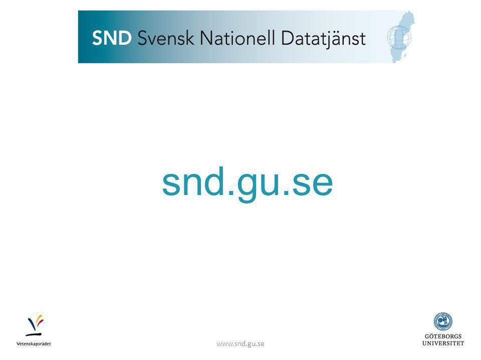 www.snd.gu.se snd.gu.se