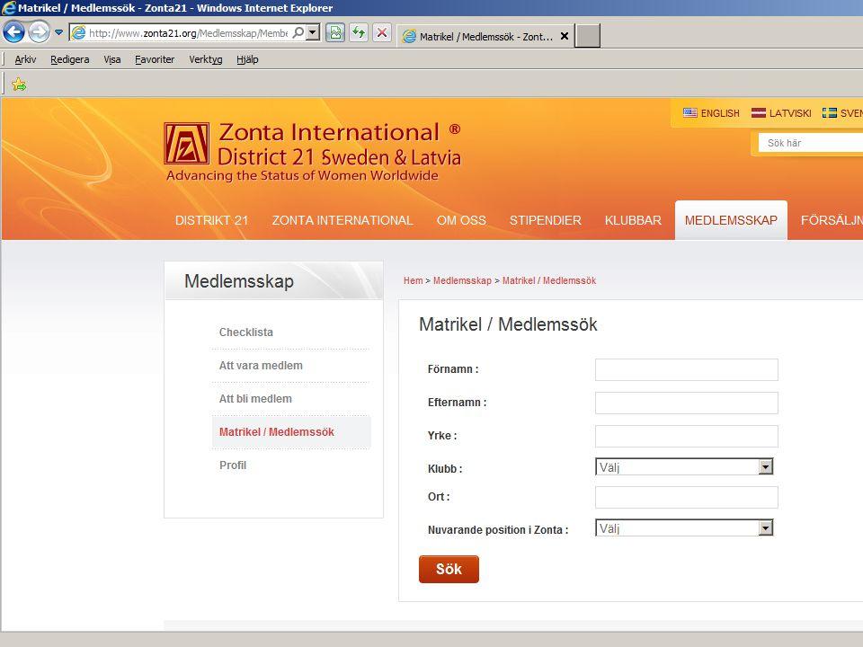 Medlemsmatrikel web: D21 och ZI 10M von Hartmansdorff, Lt. Gov. 2012-2014