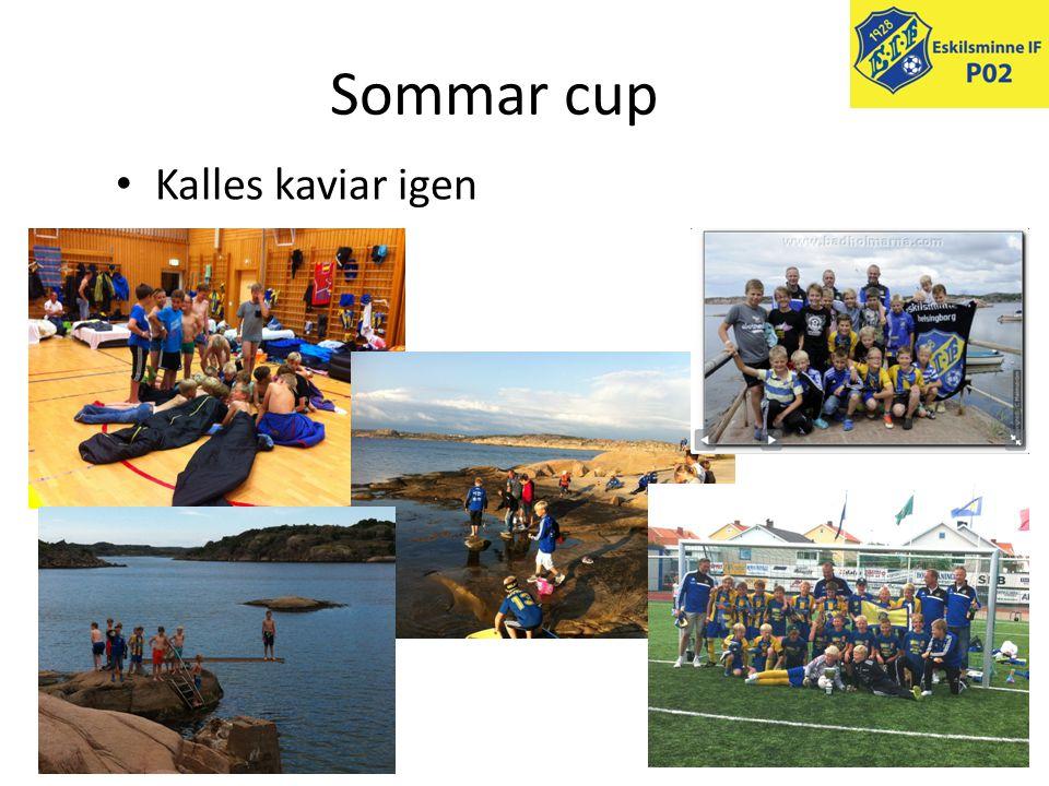Sommar cup • Kalles kaviar igen