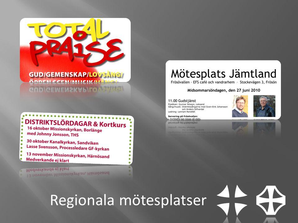 Regionala mötesplatser