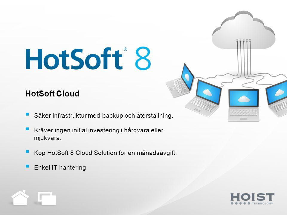 HotSoft Enterprise Solution  Centralt kundregister.