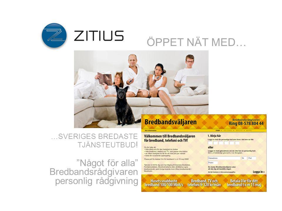 Sveriges ledande kommunikationsoperatör.Mer än 182 000 hushåll nås av vårt tjänsteutbud via fiber.