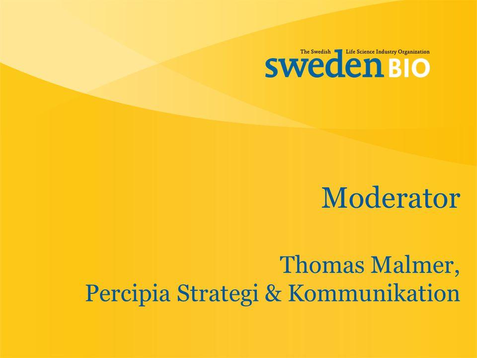 Moderator Thomas Malmer, Percipia Strategi & Kommunikation