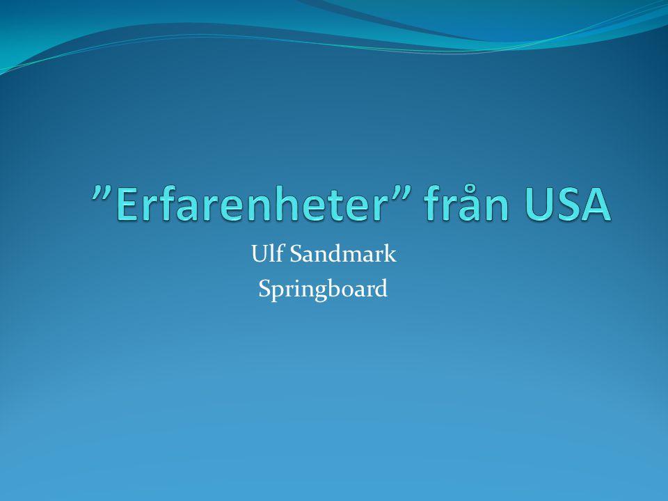 Ulf Sandmark Springboard