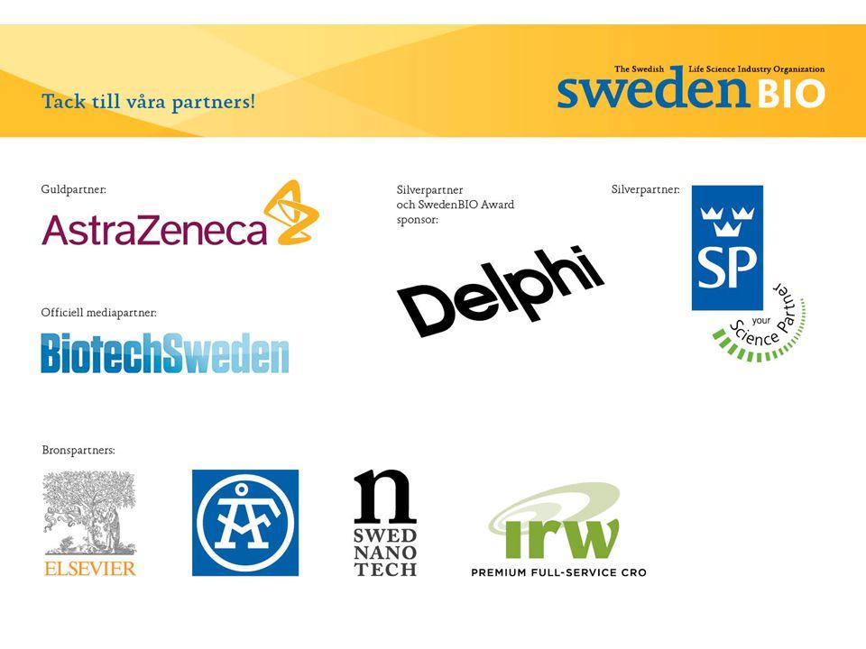 Åtgärder för Sverige  Skapa stora ekosystem för innovation och tillväxt  Måste vara tillåtet att misslyckas = Ny erfarenhet  Måste vara tillåtet att lyckas = Succes stories och förebilder  Tillgång till tillväxtkapital måste underlättas (1 MSEK =1 MUSD i seed)  Innovationsupphandling med offentliga medel behövs  Målfokusera: Get big - Bli bäst i världen.