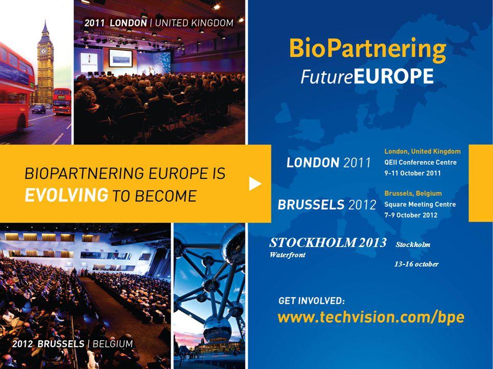 Bryssel 7-9 oktober 2012 + Closing reception Partner välkomnas!