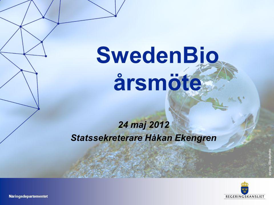 Näringsdepartementet Nu formas Sveriges innovationsstrategi Statssekreterare Catharina Håkansson Boman SISP Innovationsriksdag Kalmar 10 maj 2011 24 m