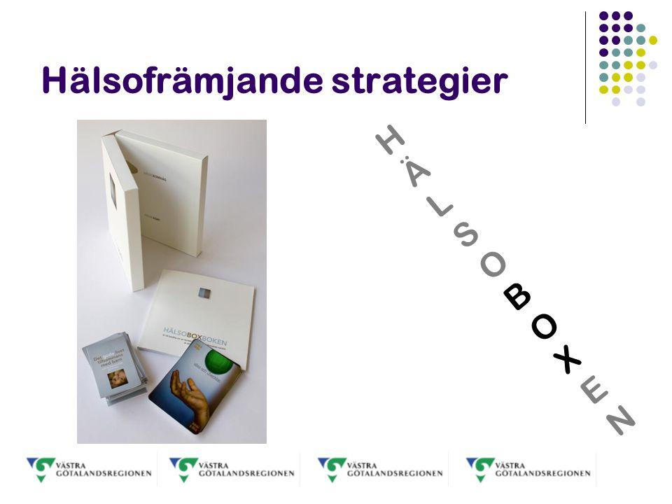 Hälsofrämjande strategier HÄLSOBOXENHÄLSOBOXEN