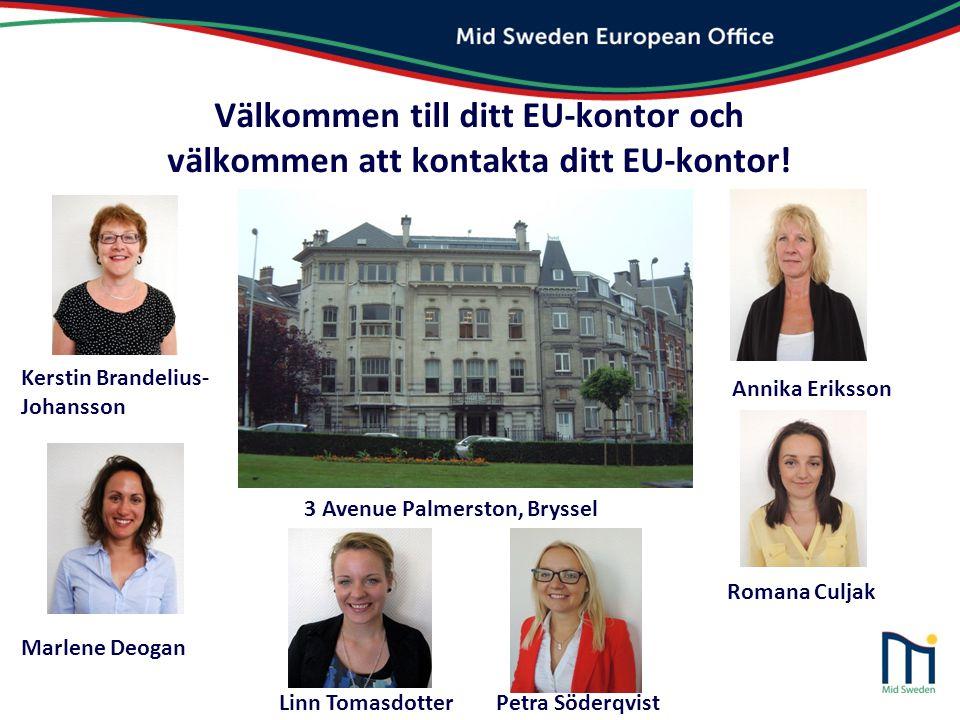 Välkommen till ditt EU-kontor och välkommen att kontakta ditt EU-kontor! Marlene Deogan 3 Avenue Palmerston, Bryssel Romana Culjak Linn Tomasdotter Pe