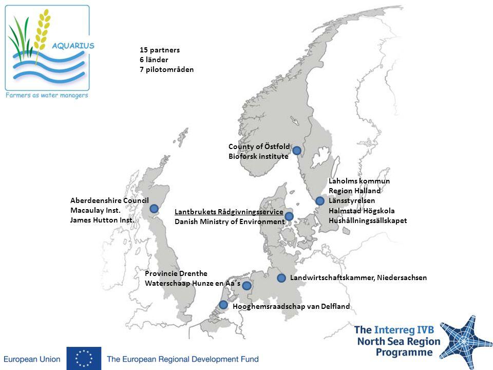 Läs mer: Aquarius Svenska hemsida: http://www.regionhalland.se/sv/utveckling-och-tillvaxt/projekt/miljoprojekt/aquarius/ Aquarius internationella hemsida: http://www.aquarius-nsr.eu/Aquarius.htmhttp://www.aquarius-nsr.eu/Aquarius.htm Eller kontakta mig: John Strand Hushållningssällskapet Halland john.strand@hushallningssallskapet.se 035-39824, 070-8438218 www.wetlands.se
