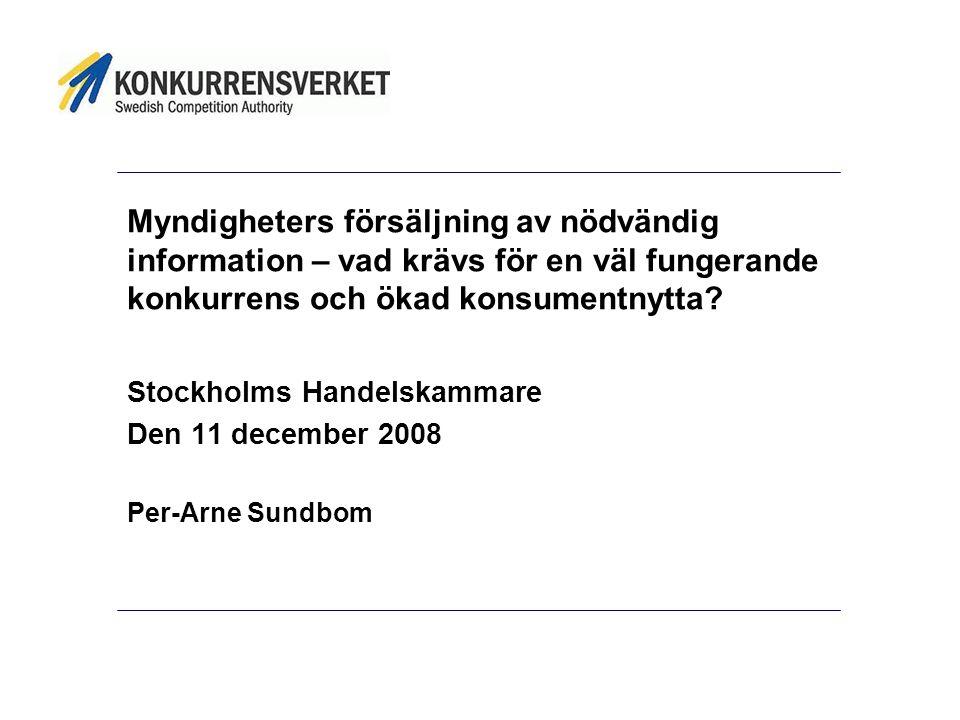 Tack för att ni lyssnade! per-arne.sundbom@konkurrensverket.se 08 -700 1619 073 -773 1619