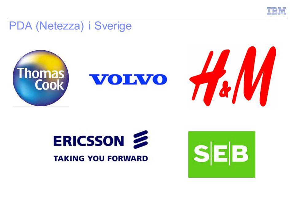 PDA (Netezza) i Sverige
