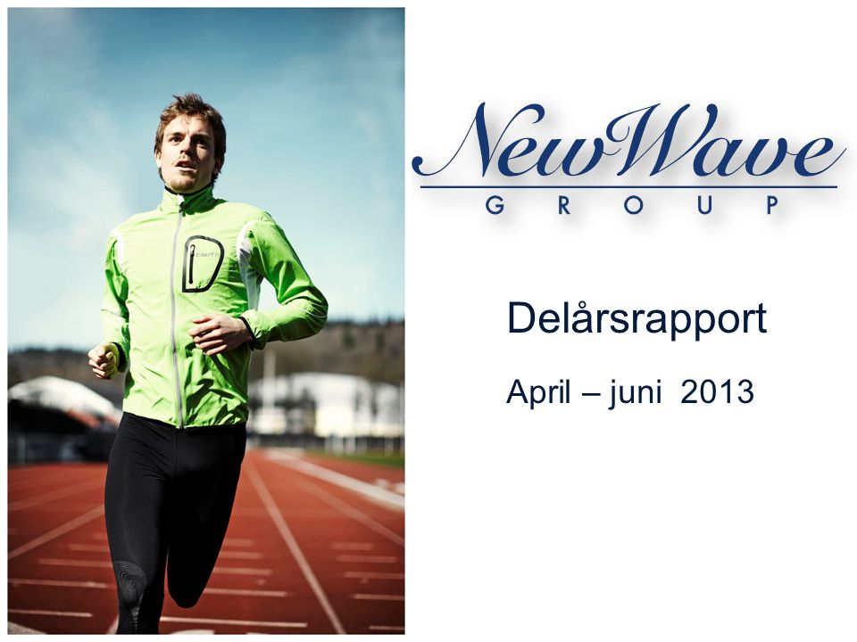  New Wave Group är ett tillväxtbolag.