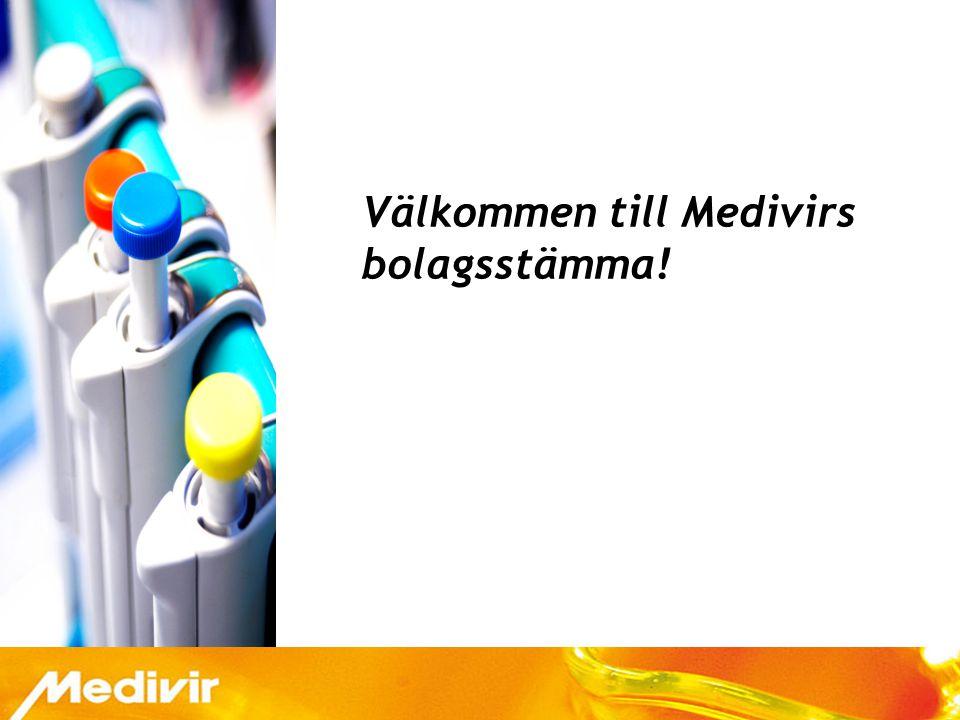 Välkommen till Medivirs bolagsstämma!