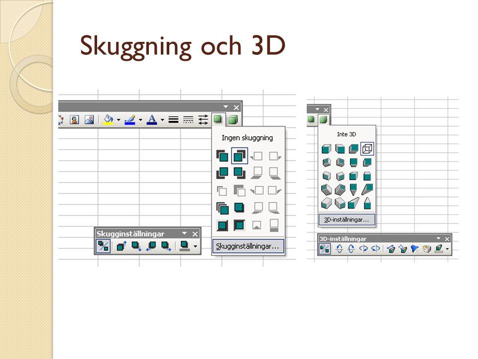 Skuggning och 3D