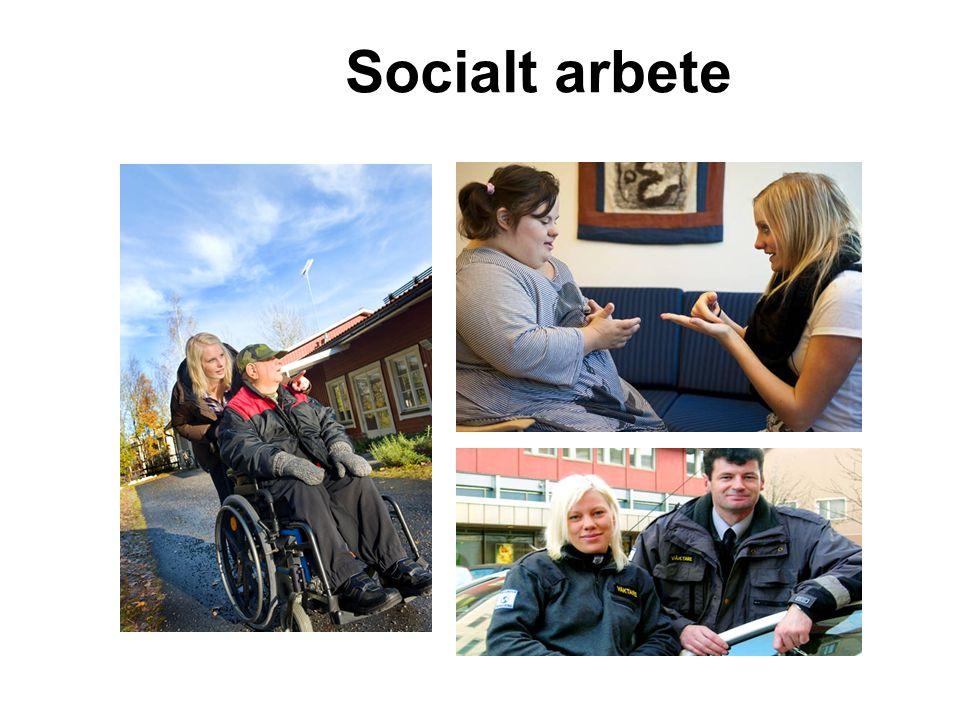 Inriktningskurser socialt arbete Sociologi Sociologi 100 p Socialt arbete Socialt arbete 200 p