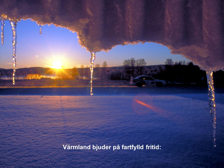 Värmland bjuder på fartfylld fritid: