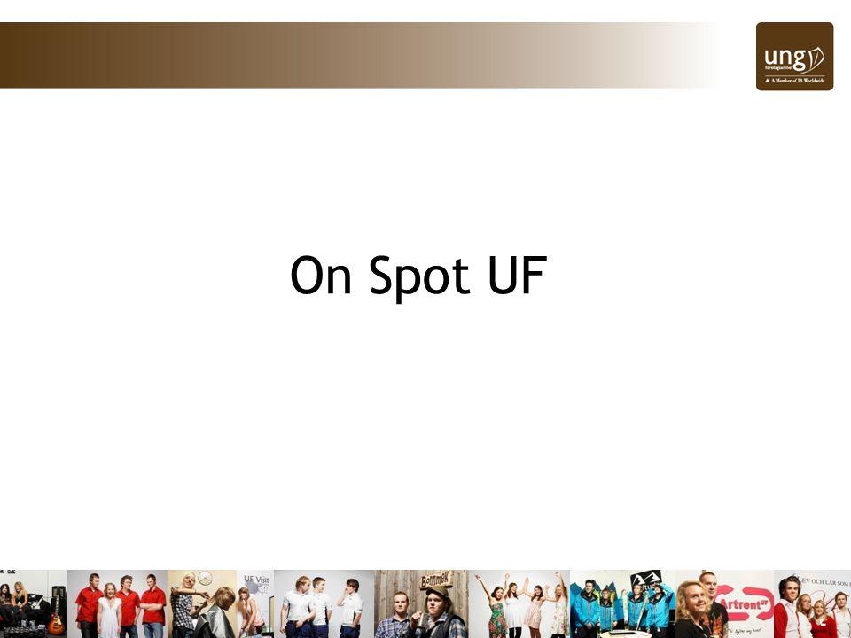 Kick off.Träffa flera hundra av länets andra UF-elever.